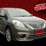 ชุดแต่งรอบคัน Nissan Almera ทรง JAP