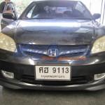ลิ้นหน้า Honda Civic 2004 Dimension ทรง SIR2