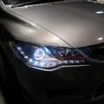 ไฟหน้าแต่ง Honda Civic FD ทรง R8