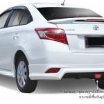 สปอยเลอร์ Toyota New Vios 2013 ทรงยกมีไฟ OEM