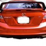 สปอยเลอร์ Honda Civic FB ทรง Mugen
