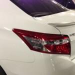 สปอยเลอร์ Toyota New Vios 2013 ทรงแนบ Ducktail V.3