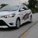 ชุดแต่งรอบคัน Toyota New Vios 2013 ทรง JAP V.2