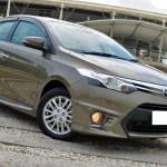 ชุดแต่งรอบคัน Toyota New Vios 2013 ทรง TD Sport V.2