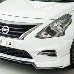 ลิ้นหน้า Nissan Almera 2014 Sportech ทรง Arkira