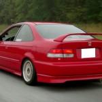 ลิ้นหลัง Honda Civic 96 EK ทรง Type-R