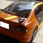 สปอยเลอร์ Honda Civic FD ทรง DTM Mugen Type-R แบบคาร์บอนทั้งตัว