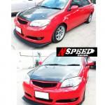 ลิ้นหน้าซิ่ง Toyota Vios 06 ทรง N Speed