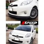 ลิ้นหน้าซิ่ง Toyota Yaris 2012 ทรง N Speed