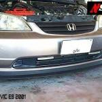 ลิ้นหน้าซิ่ง Honda Civic 2001 Dimension ทรง N Speed