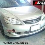 ลิ้นหน้าซิ่ง Honda Civic 2004 Dimension ทรง N Speed