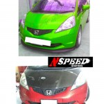ลิ้นหน้าซิ่ง Honda Jazz GE ทรง N Speed