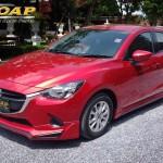 ชุดแต่งรอบคัน Mazda2 2015 Skyactiv 5D ทรง Option