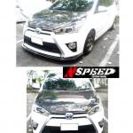 ลิ้นหน้าซิ่ง Toyota Yaris 2014 ทรง N Speed