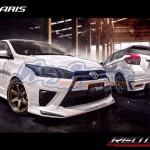ชุดแต่งรอบคัน Toyota Yaris 2014 ทรง REDLINE