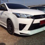 ชุดแต่งรอบคัน Toyota Yaris 2014 ทรง Team