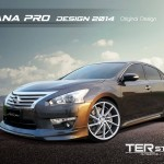 ชุดแต่งรอบคัน Nissan Teana 2013 ทรง Pro Design