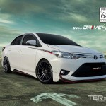 ชุดแต่งรอบคัน Toyota New Vios 2013 ทรง Drive68