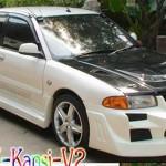 ชุดแต่งรอบคัน Mitsubishi E-CAR ทรง Kansai Evo7 V.2
