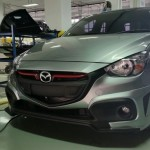 ชุดแต่งรอบคัน Mazda2 2015 Skyactiv 5D ทรง Kinggy
