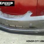 ลิ้นหน้าซิ่ง Honda City 2003 ทรง N Speed
