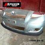 ลิ้นหน้าซิ่ง Toyota Yaris 09 ทรง N Speed