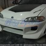 กันชนหน้า Honda Civic 92 EG 4D ทรง Blitz
