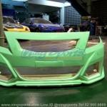 ชุดแต่งรอบคัน Toyota Vios 2007 ทรง Type-R Concept
