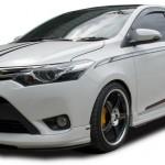 ชุดแต่งรอบคัน Toyota New Vios 2013 ทรง S-1