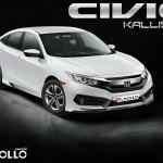 ชุดแต่งรอบคัน Honda Civic FC ทรง Kallisto