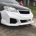 กันชนหน้า Toyota Vios 03 ทรง Type-R Concept