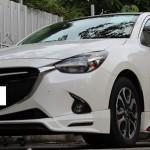 ชุดแต่งรอบคัน Mazda2 2015 Skyactiv 5D ทรง MDP