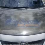 ฝากระโปรงคาร์บอนไฟเบอร์ Toyota Altis 08-10 ทรงเรียบ Monza