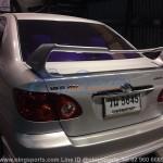 สปอยเลอร์ Toyota Altis 02-06 ทรง TRDD2