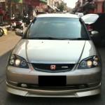 กระจังหน้า Honda Civic 2001 Dimension ทรง RS