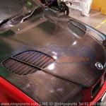 ฝากระโปรงคาร์บอนไฟเบอร์ BMW E36 ทรง GTR