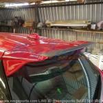 สปอยเลอร์ Toyota Yaris 2014 ทรง Drive68