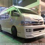 ชุดแต่งรอบคัน Toyota Commuter 2006-2011 ทรง Motorshow ผสม J1 ท่อเดี่ยว