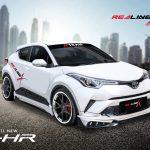 ชุดแต่งรอบคัน Toyota CH-R ทรง Redline X