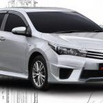 ชุดแต่งรอบคัน Toyota Altis 2014 ทรง Z-II