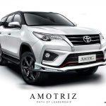 ชุดแต่งรอบคัน Toyota Fortuner 2015 TRD ทรง Amotriz
