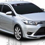ชุดแต่งรอบคัน Toyota New Vios 2013 ทรง ZX