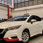 ชุดแต่งรอบคัน Nissan Almera 2020 ทรง BK