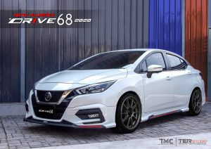 ชุดแต่งรอบคัน Nissan Almera 2020 ทรง Drive68