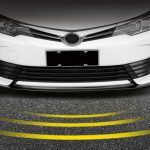 ลิ้นหน้า Toyota Altis 2016 ทรง OEM แบบ 3 ชิ้น