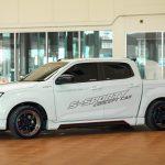 ชุดแต่งรอบคัน ISUZU D-MAX 2020 ทรง Seed Sport1 รถ 4 ประตู