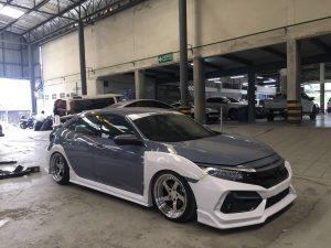 ชุดแต่งรอบคัน Honda Civic FK 2020 ทรง Type-R