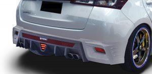 สเกิร์ตหลัง Toyota Yaris 2020 ทรง S1 สำหรับรถรอง Top