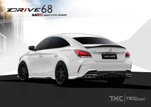 ชุดแต่งรอบคัน MG 5 2021 ทรง Drive68