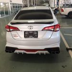 ชุดแต่งรอบคัน Toyota Yaris Ativ 2020 ทรง Fortezza
